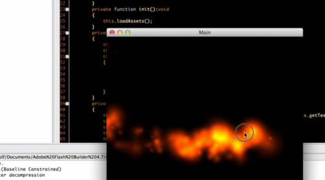 Tutorial: Particle System + Particle Editor + Starling + Asset Manager